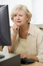 confused woman at computer 150x226 Topic From Forum  Rebuilding Trust